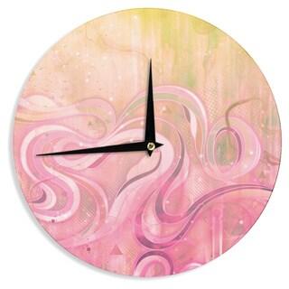 KESS InHouseMat Miller 'Cascade' Wall Clock
