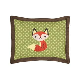 Sweet Jojo Designs Forest Friends Collection Standard Pillow Sham