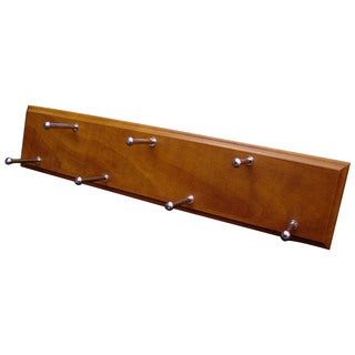 Easy Track RA1202-C-4 Cherry Easy Track Molded Wood Belt Rack