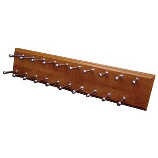 Easy Track RA1200-C-4 Easy Track Molded Wood Tie Rack