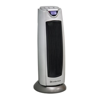 Comfort Zone CZ499R Oscillating Heater Tower With Remote