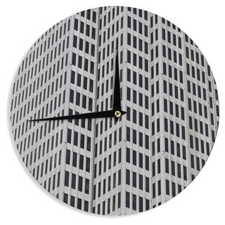 KESS InHouseMaynard Logan 'The Grid' Wall Clock