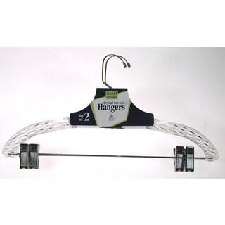 Merrick C72210S CRYST Crystal Cut Suit Hanger