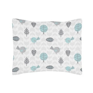Sweet Jojo Designs Earth and Sky Collection Standard Pillow Sham