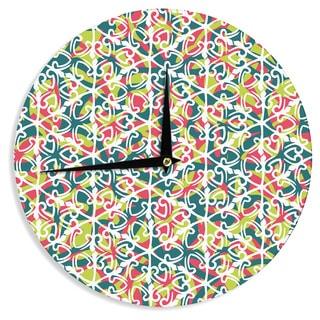 KESS InHouseMiranda Mol 'Cool Yule' Wall Clock