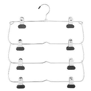 Whitmor 6021-185 4-Tier Folding Skirt Hanger