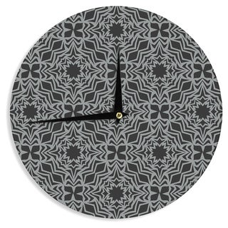 KESS InHouseMiranda Mol 'Optical Fest' Wall Clock