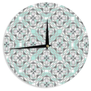 KESS InHouseMiranda Mol 'Winter Pool' Wall Clock
