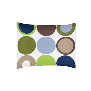 Sweet Jojo Designs Designer Dot Collection Standard Pillow Sham