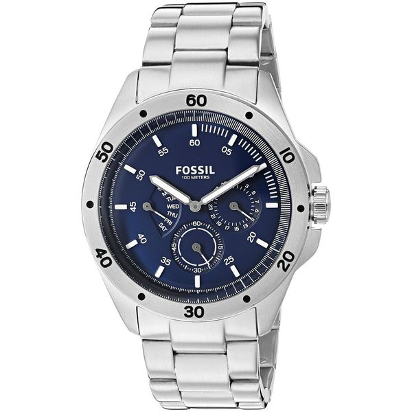 968c58c2dce Shop Fossil Men s CH3034  Sport 54  Multi-Function Stainless Steel Watch -  Free Shipping Today - Overstock - 12442653