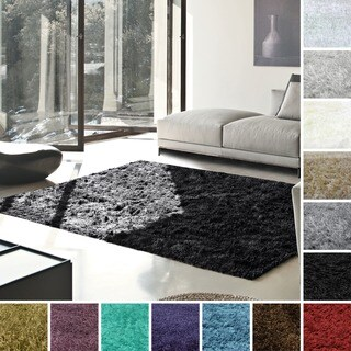 Superior Collection Hand Woven Elegant and Soft Shag Rug (4'x 6')