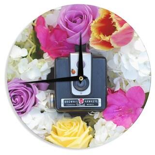 KESS InHouse Libertad Leal 'The Four Seasons: Spring' Wall Clock