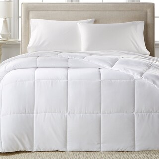 Sweet Home Collection Lightweight Cotton Goose Feather Comforter (Option: Queen)