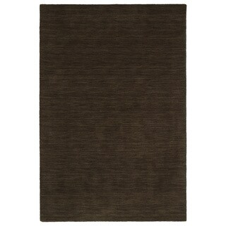 Gabbeh Chocolate Hand Made Rug (9'6 x 13'0)