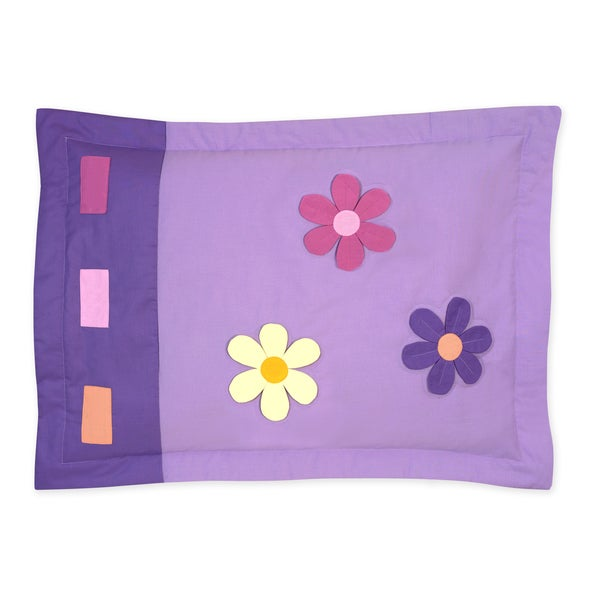 Sweet Jojo Designs Danielle's Daisies Collection Standard Pillow Sham