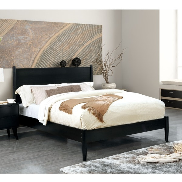 Superior Furniture Of America Corrine Mid Century Modern Platform Bed   Free  Shipping Today   Overstock.com   19257790