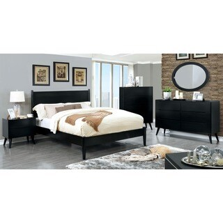 Furniture of America Corrine Mid-Century Modern Queen Bed