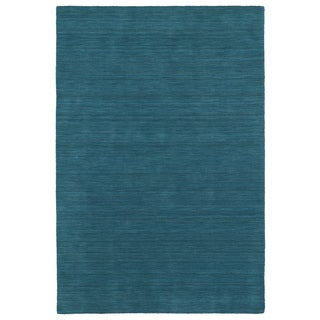 Gabbeh Turquoise Hand Made Rug (9'6 x 13'0)