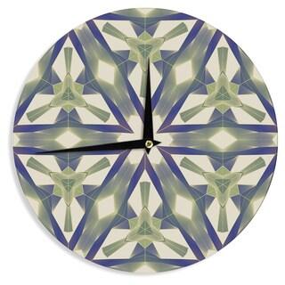 KESS InHouse Angelo Cerantola 'Lymph' Geometric Modern Wall Clock