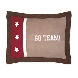 Sweet Jojo Designs All Star Sports Collection Standard Pillow Sham