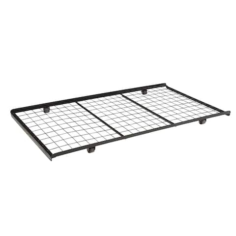 Coaster Company Black Metal Roll-in Trundle