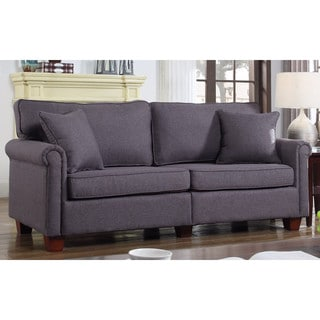 classic 73inch love seat living room linen fabric sofa