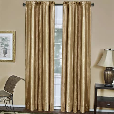 Achim Ombre Gold Window Curtain Panel - 50x84