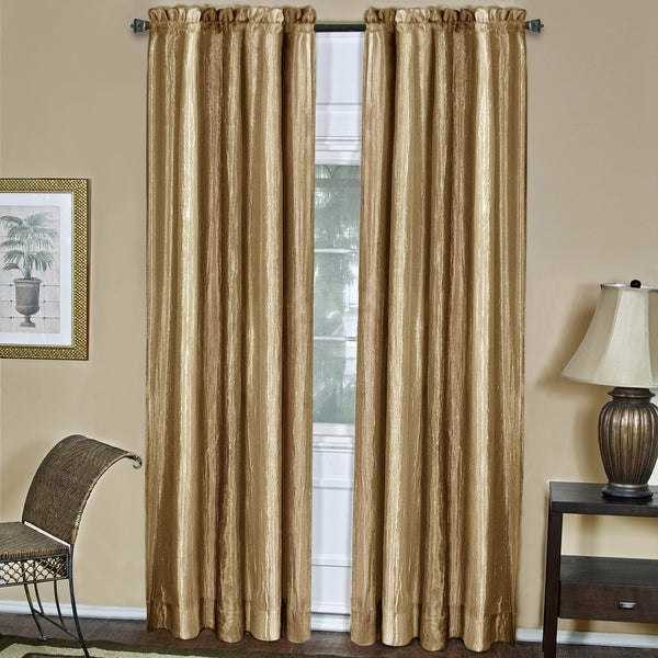 d3873bec4ba041 Shop Achim Ombre Gold Window Curtain Panel - Free Shipping On Orders Over  $45 - Overstock - 12442910