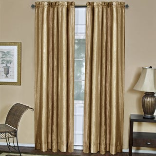 Ombre Gold Window Curtain Panel