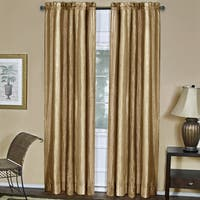 Achim Ombre Gold Window Curtain Panel