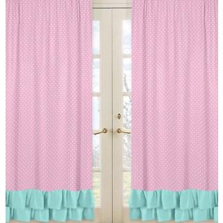 Sweet Jojo Designs Skylar Collection Window Curtain Panels