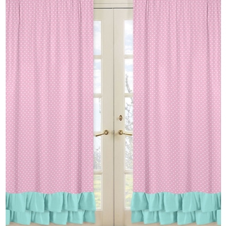 Sweet Jojo Designs Skylar Collection Window Curtain Panels