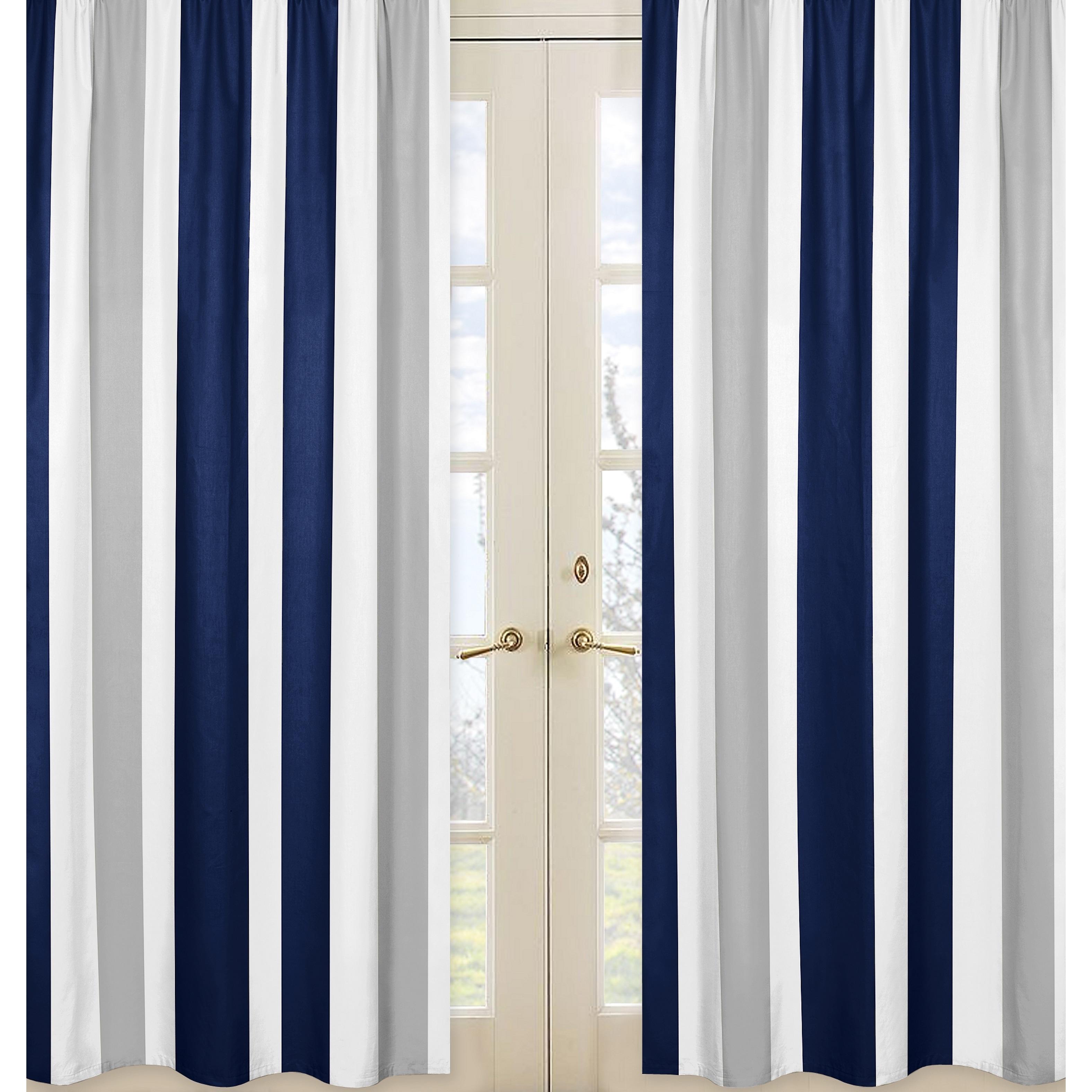Gray Window Curtain Panels