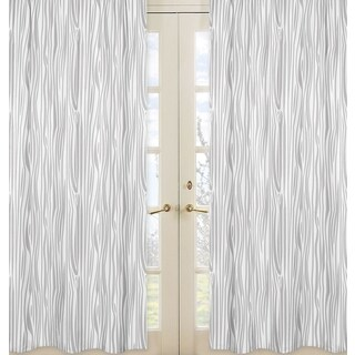 Sweet Jojo Designs Window Curtain Panels for Woodland Animals Collection