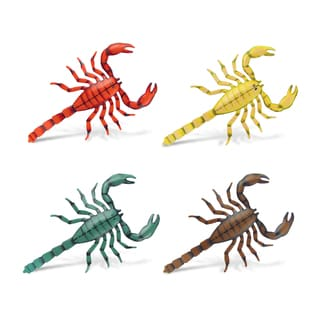 Scorpion Bobble Metal Magnet (Set of 4)
