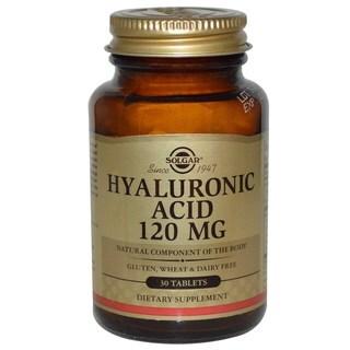 Solgar 120mg Hyaluronic Acid Tablets (30 Count)