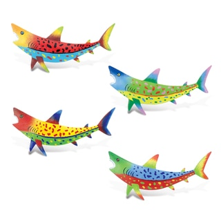 Shark Bobble Metal Magnet (Set of 4)