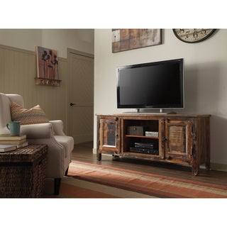 Brown TV Console