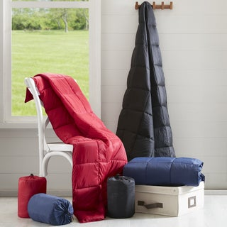 Premier Comfort Packable Down Alternative Throw 3-Color Options