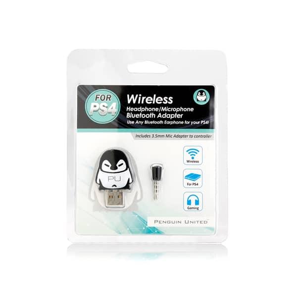 Shop Bluetooth Wireless Headset Headphone Adapter Mic Ps4 Sony Black Overstock 12443395