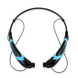 Gearonic Sport Wireless Bluetooth Headphone Handfree Universal Earphone (Option: Blue)
