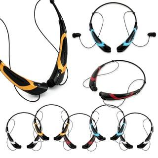 Gearonic Sport Wireless Bluetooth Headphone Handfree Universal Earphone (Option: Gold)