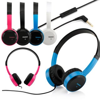 Gearoic 3.5mm Headphone Earphone Headset with Mic and Answer Phone Function