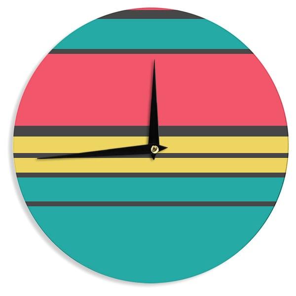 KESS InHouse Danny Ivan 'Simple' Wall Clock
