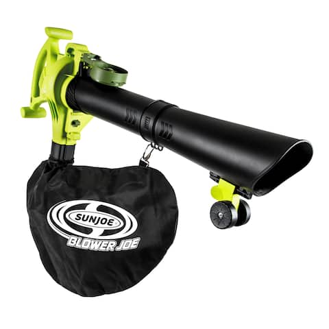 Sun Joe 14-Amp High Performance Variable-Speed (up to 250 MPH) Electric Blower/Vacuum/Mulcher with Metal Impeller