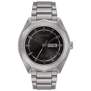 Citizen Eco-Drive Men's AW0060-54H Titanium Watch