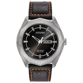 Citizen Eco-Drive AW0060-03E Men's Titanium Watch