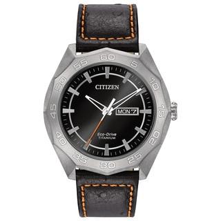 Citizen Eco-Drive AW0060-03E Men's Titanium Watch
