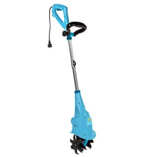 Sun Joe 2.5 AMP Electric Cultivator - Blue|https://ak1.ostkcdn.com/images/products/12443993/P19258654.jpg?impolicy=medium