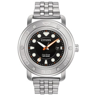 Citizen Men's AW1530-65E Eco-Drive Stainless Steel DIY Watch
